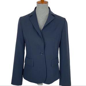 FOREVER 21 ll Navy Blue One-Button Blazer Medium